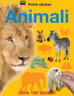 Animali. Primi sticker. Con adesivi