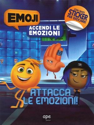 Attacca le emozioni. Emoji. Con adesivi