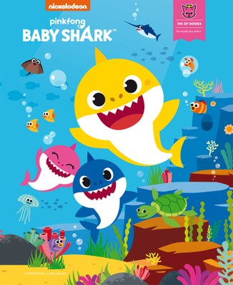 Baby Shark Tin box