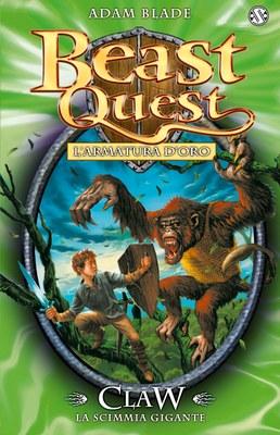 Beast Quest. Claw. La scimmia gigante