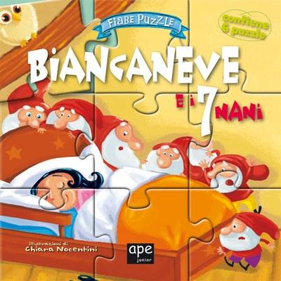 Biancaneve. Fiabe puzzle