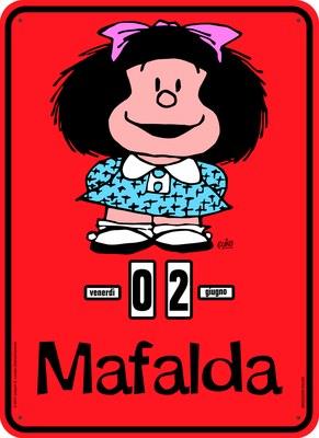 Calendario Perpetuo. Mafalda Classica