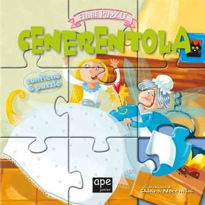 Cenerentola. Fiabe puzzle. Libro puzzle