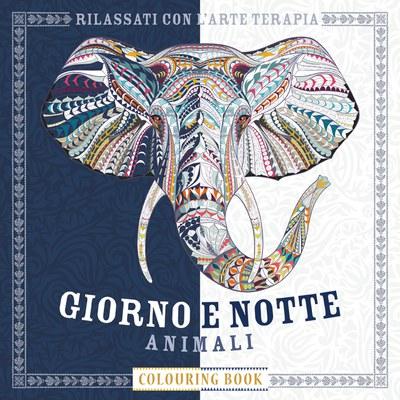 GIORNO E NOTTE ANIMALI COLOURING BOOK