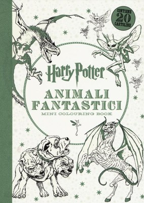 Harry Potter. Animali fantastici. Mini colouring book. Ediz. illustrata