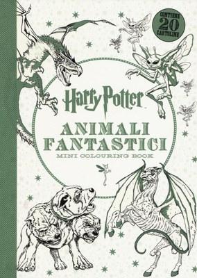 Harry Potter. Animali fantastici. Mini colouring book. Ediz. illustrata