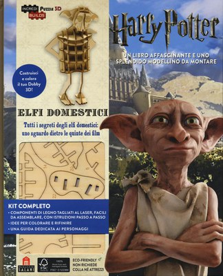 Harry Potter. Elfi domestici. Incredibuilds puzzle 3D da J. K. Rowling. Ediz. illustrata. Con gadget