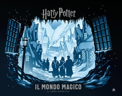 Harry Potter. Il mondo magico. Il libro paper-cut