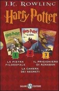 Harry Potter: La pietra filosofale-La camera dei segreti-Il prigioniero di Azkaban