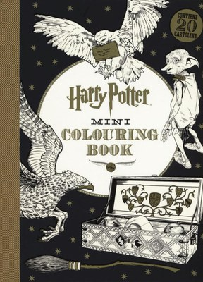 Harry Potter mini colouring book. Ediz. illustrata
