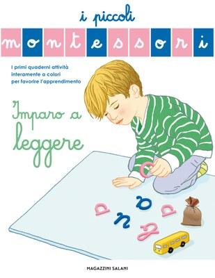I piccoli Montessori - Imparo a leggere