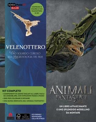 Incredibuilds Animali Fantastici - Velenottero. Nuova edizione