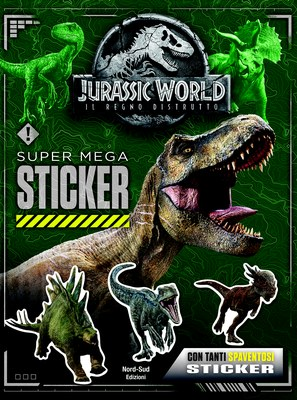 Jurassic World 2 - Super mega sticker