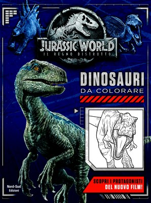 Jurassic World - Dinosauri da colorare