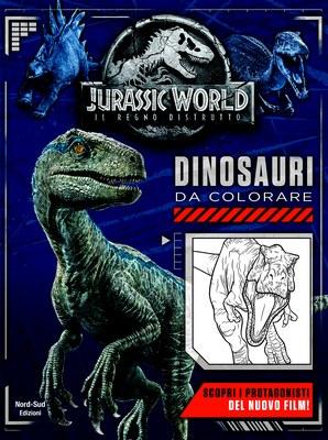 Jurassic World - Dinosauri da colorare