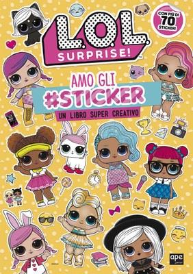 L.O.L Surprise! - Attacca gli sticker delle L.O.L.