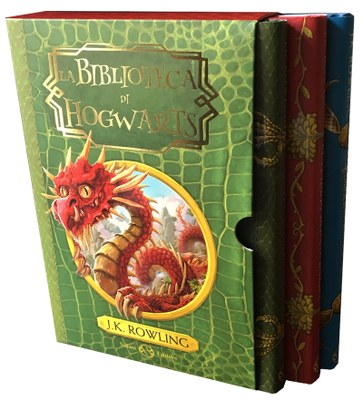 La Biblioteca di Hogwarts (cofanetto)
