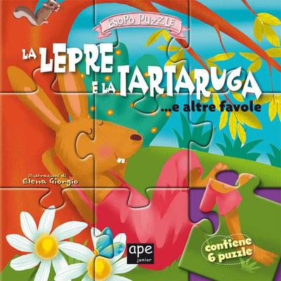 La lepre e la tartaruga... e altre favolc. Libro puzzle. Ediz. illustrata