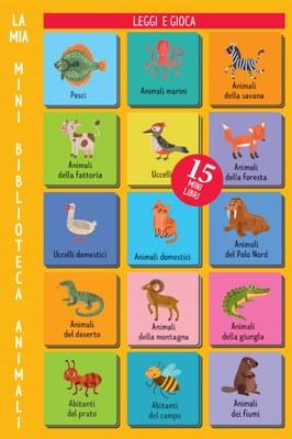 La mia mini biblioteca - Animali