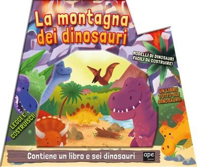 La montagna dei dinosauri. Ediz. a colori. Con Prodotti vari