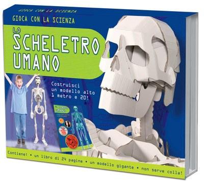Lo scheletro umano. Gioca con la scienza. Ediz. illustrata. Con gadget