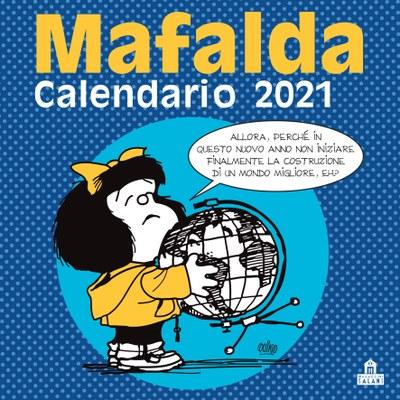 Mafalda. Calendario da parete 2021