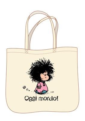 Mafalda. Oggi mordo - Shopper classic