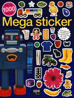 Mega sticker. Più di 1000 sticker. Ediz. illustrata