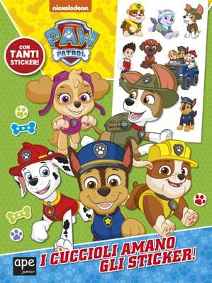 Paw Patrol - I cuccioli amano gli sticker!