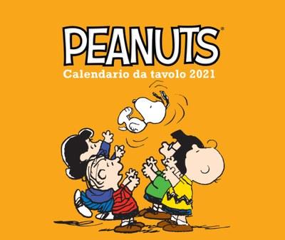 Peanuts. Calendario da tavolo 2021