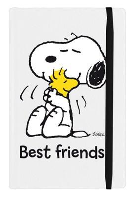 Peanuts - Taccuino - Best friends (bianco)