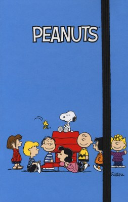 Peanuts - Family (azzurro)