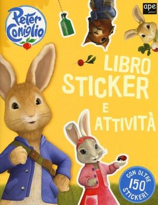 Peter Coniglio. Libro sticker e attività