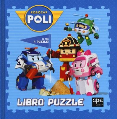 Robocar Poli. Libro puzzle