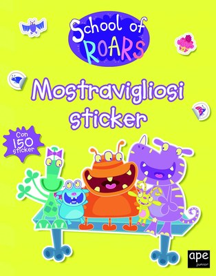 School of Roars - Mostravigliosi Sticker