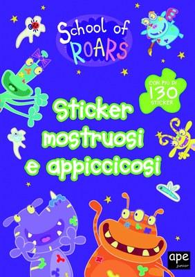 School of roars - Sticker mostruosi e appiccicosi
