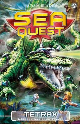 Sea Quest 9 - Tetrax. Il Coccodrillo della Palude