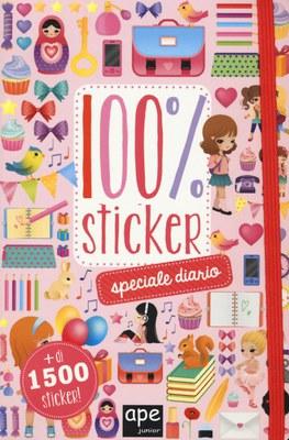 Speciale diario. 100% sticker. Con adesivi. Ediz. illustrata
