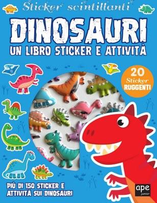 Sticker 3D Dinosauri