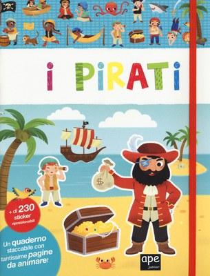 Stickers quaderno pirati