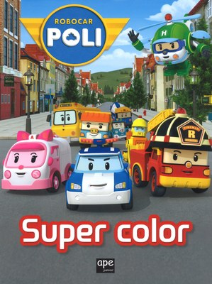 Super coloring. Robocar Poli