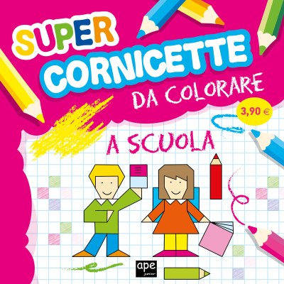 Super cornicette da colorare