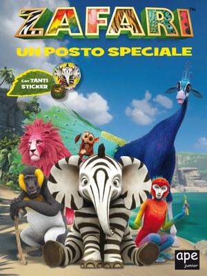 Zafari - Un posto speciale - libro sticker