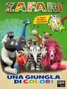 Zafari - Una giungla di colori - libro da colorare